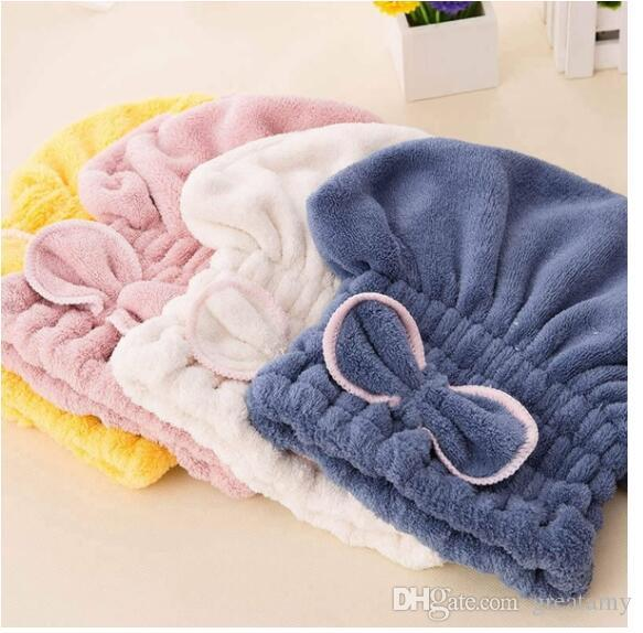 New Microfiber Bathrobe Dry Hair Cap Coral Fleece Bath Thickened Princess  Hat Super Absorbent Dry Hair Cap New Microfiber Towel Dry Hair Cap Bath  Princess ... 361f5fb49