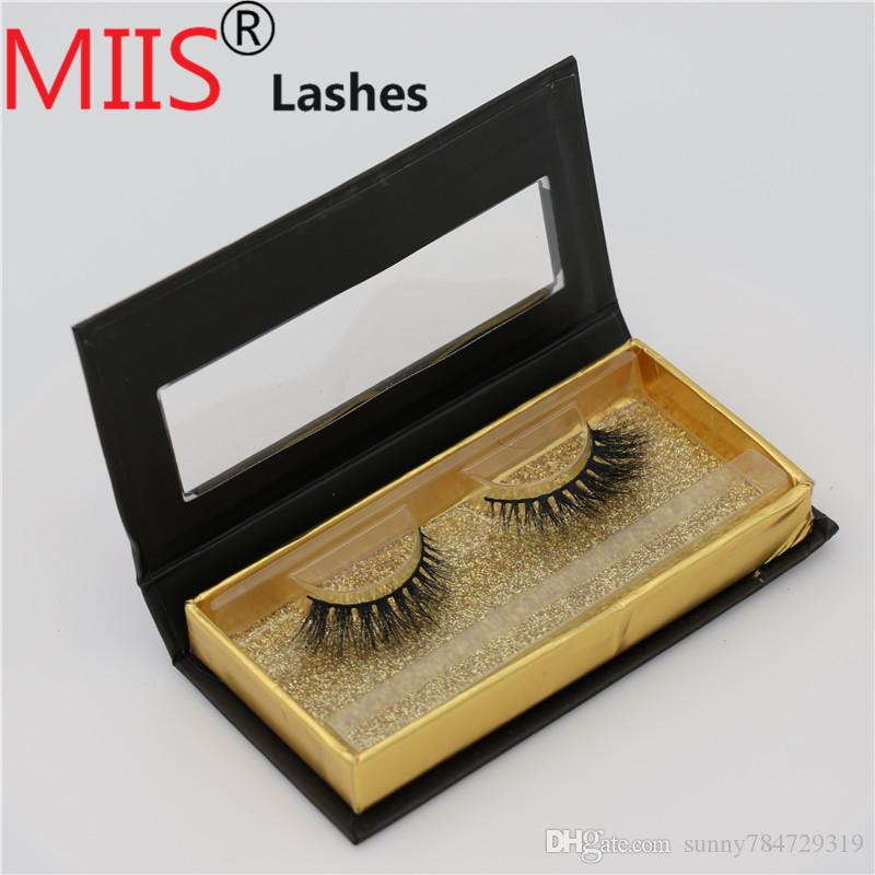 Customize your own brand logo eyelash box handmade 3D mink eyelash box