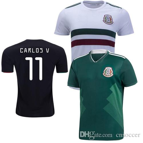 quality design 09034 b7aa2 Mexico Jersey 2019 H.LOZANO H.HERRERA R.MARQUEZ CHICHARITO A.GUARDADO  LAINEZ 29 Soccer Jersey 19 20 mexican kids kit free shipping