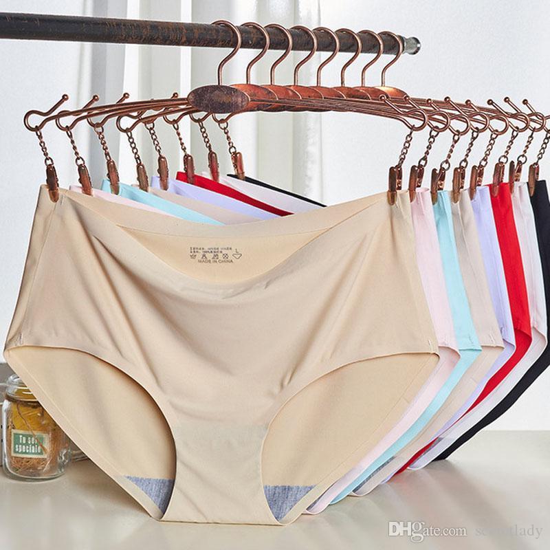 c5d5ec17c411 Plus Size Underwear Women's Panties For Women Underwear Push Up Sexy  Lingerie Cotton Crotch Briefs Seamless Panties Female