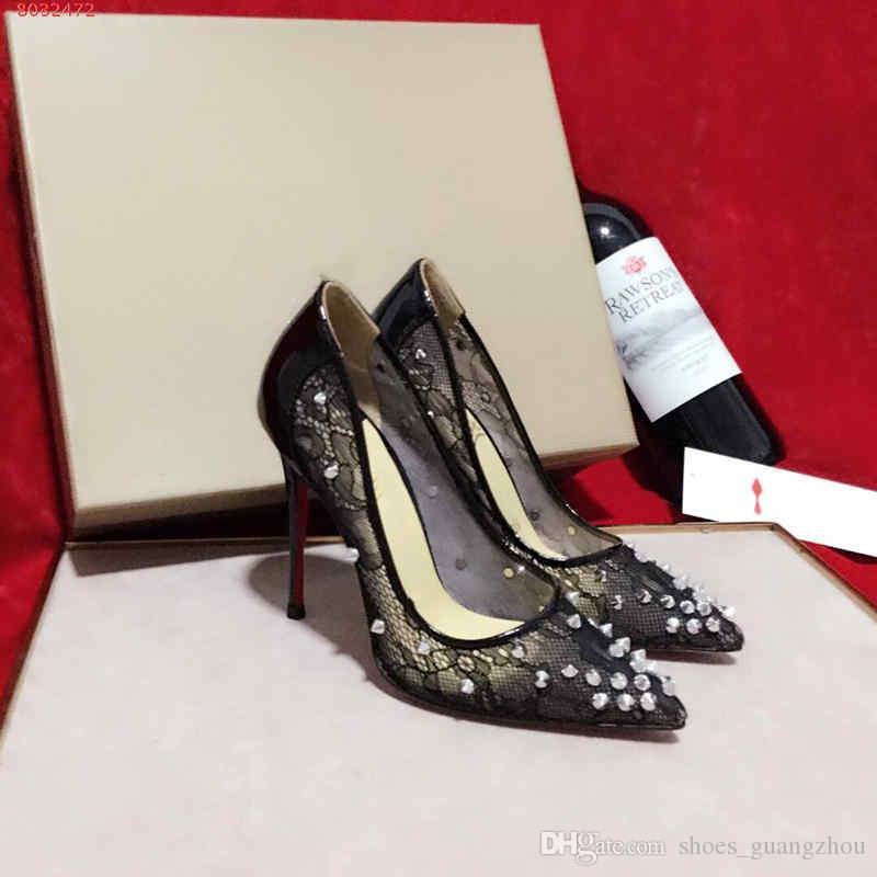 58476847f08 Fashion new Shallow mouth, high heel, transparent stitching Cross straps  Gauze water diamond women high heels high 10CM