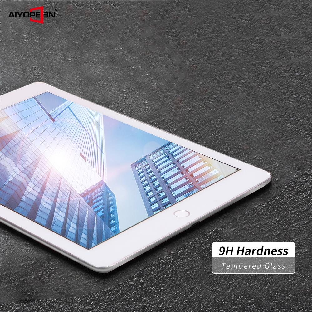 Screen Protector For iPad Pro 10.5, Aiyopeen Tempered Glass For iPad 10.5 2019 Transparent Tempered Film 2019