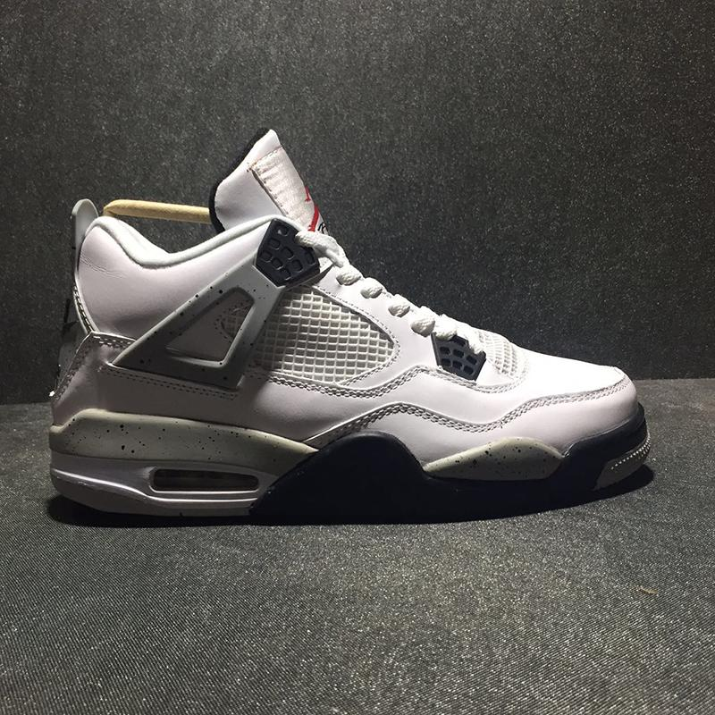 Air 4 White Cement 840606-192 4s IV Kicks Women Men Basketball Sports Shoes Sneakers Good Quality Trainers With Original Box
