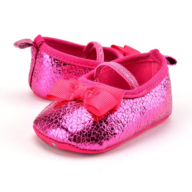 51a1d7fbf5974 2019 Newborn Baby Shoe For Girls First Walkers Cute Butterfly Sequin  Princess Ballet Float Loafer Mary Jane Wedding Girl 0 18 Months From  Begonior, ...
