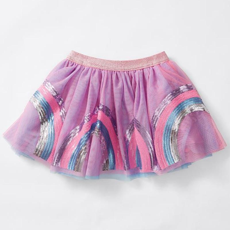 3381f279ed8 Acheter Infant Rainbow Tutu Bébé Filles Jupe Mini Paillettes Rainbow Violet  Boules Filles Jupes Princesse Fête De Danse De Ballet Jupe Bébé De  41.21  Du ...