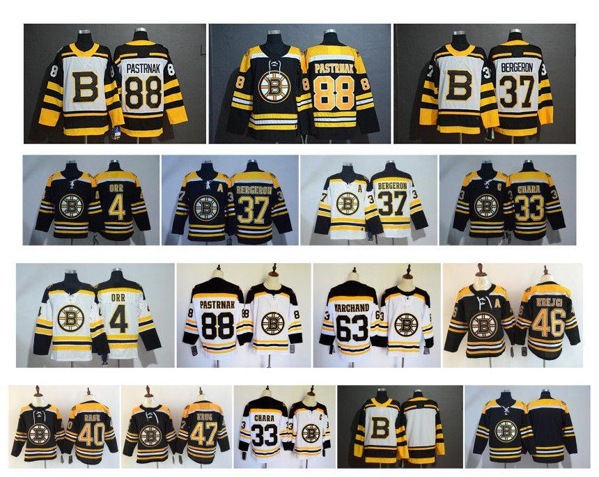 buy popular 5a3f1 a50e2 NHL Boston Bruins Jersey David Pastrnak Winter Classic Brad Marchand Orr  Chara Patrice Bergeron Torey Krug Tuukka Rask Krejci Hockey