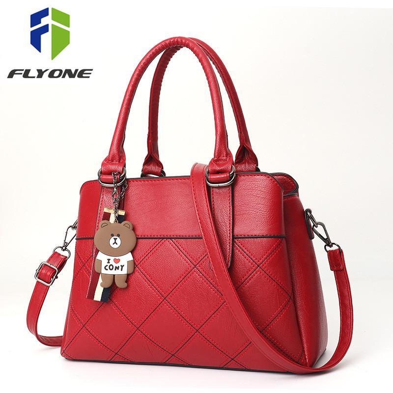 6f2b99cbd4 PU Leather Women Handbags Ladies Large Tote Bag Female Square Shoulder Bag  Bolsas Femininas Sac A Main Fashion Crossbody Bags Crossbody Bags Satchel  From ...