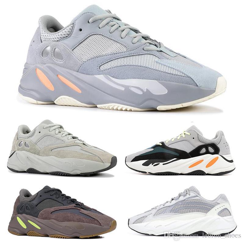 adidas yeezy 700 Wave Runner INERTIA Mauve Multi Solid Grau SALT Static Herren Damen Designer Sneakers