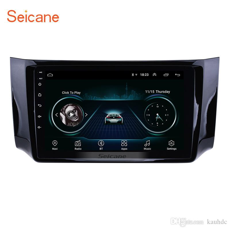10 1 Inch Android 8 1 Touch Screen Head Unit GPS Car Radio for 2012-2016  NISSAN SYLPHY with AUX WIFI USB support TPMS DVR OBD II Rear camera