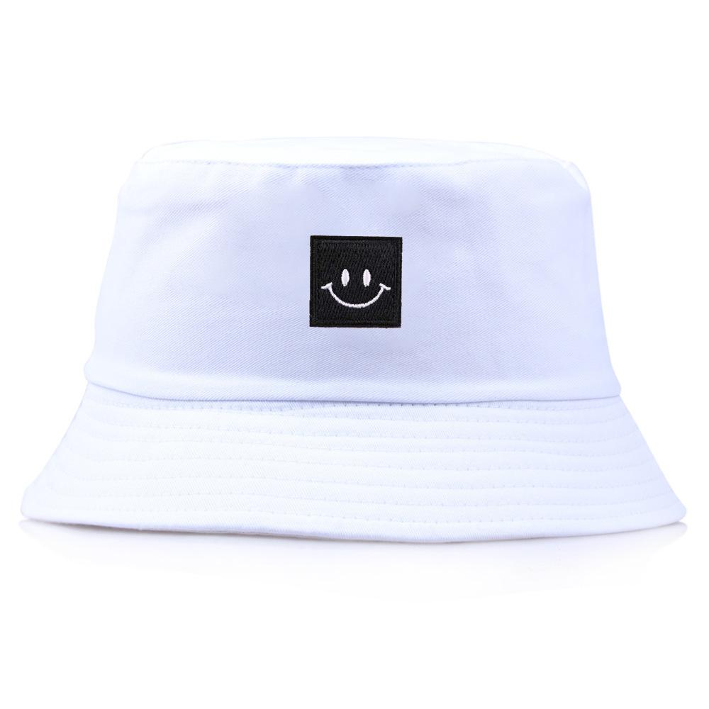 2019 Japanese Block Smiling Face Square Machine A Head Basin Cap Outdoors  Sunscreen Sun Hat Fisherman Hat From Mary20181109 c997b736b35