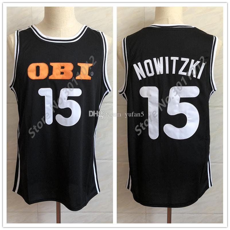 15 Dirk Nowitzki Deutschland Germany National Team Retro Classic  Basketball Jersey Mens Stitched Custom Number And Name Jerseys UK 2019 From  Yufan5 68a8492ab