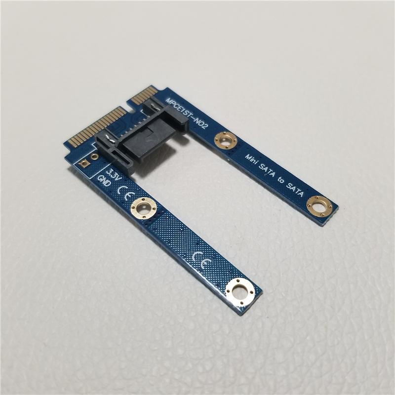 Ssd Karte.Msata Testkarte Ssd Zu Sata Festplatte Konverterplatine Festplatte Zu Full High Adapterkarte Blau