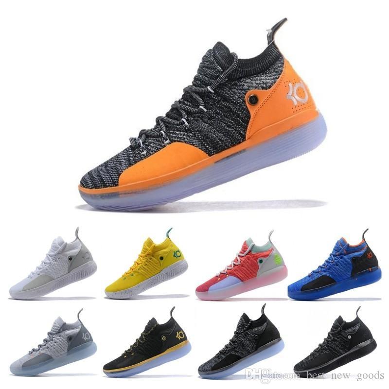 low priced 96431 a36df Großhandel 2019 ZOOM KD Kevin Durant 11 XI Seattle Paranoid Emoji Cool Grau  Triple Black Elite Für Herren Basketball Schuhe Von Best new goods, ...