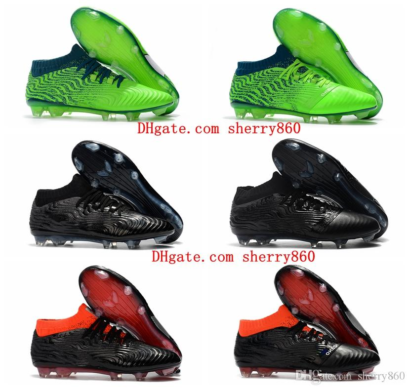 43e07e6a32b 2018 Mens One 18.1 Syn FG Soccer Cleats One Leather 18.1 Synthetic Syn FG  Griezmann Soccer Shoes Football Boots Cheap One 18.1 Syn FG Soccer Cleats  One ...