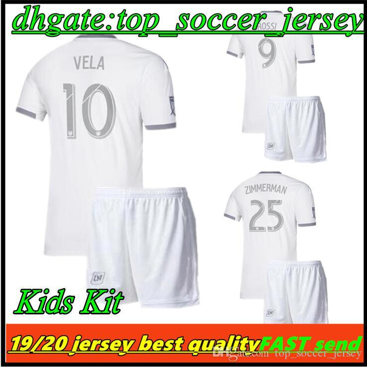 b709d4872be5 2019 19 20 Los Angeles Fc Carlos VELA LAFC Soccer Jerseys Kids Kits 2019  2020 GABER ROSSI CIMAN ZIMMERMAN Football Shirt From Top soccer jersey