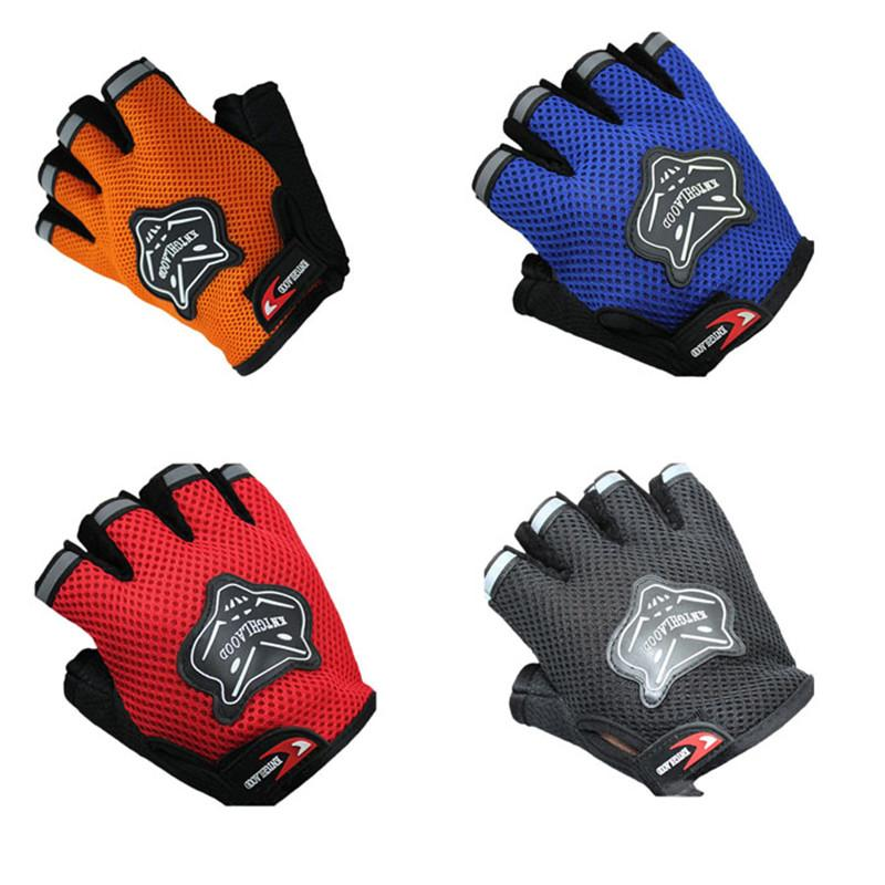 4 Color Summer Racing Bike Cycling Motorcycle Comodo Soft anti-graffio guanti The Middle Finger Gloves Men
