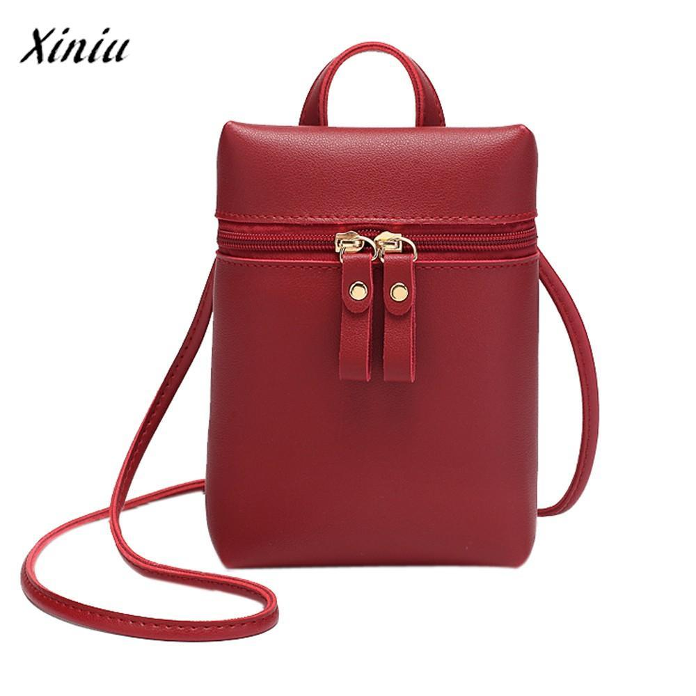 0382726cde8c Xiniu Luxury Handbags Women Bags Designer Candy Color One Shoulder ...
