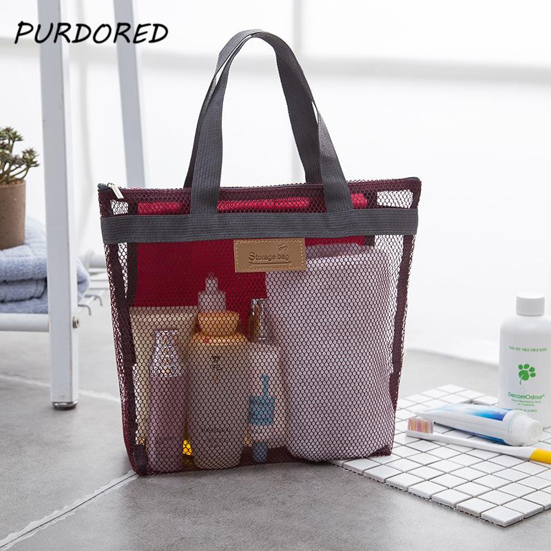 2eadad894e3dc9 2019 PURPORED Women Travel Large Cosmetic Bag Set Makeup Mesh Toiletry Bags  Men Wash Organizer Portable Pouch Case Dropshipping From Swiscafe, ...