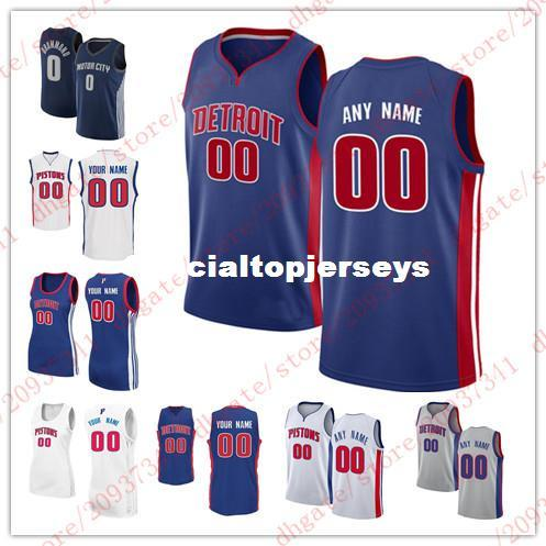 ddad17c49 2019 Cheap Custom New Basketball Jersey Customize Any Number Any Name Mens  Youth Women Stitched Personalized Grey Blue White T Shirt Vest Jerseys From  ...
