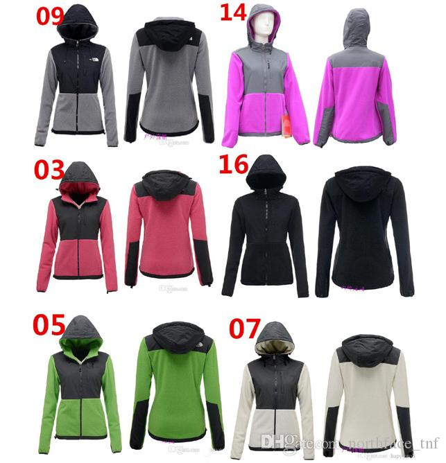 Top Quality 2019 Women Fleece Hoodies Jackets Camping Windproof Ski Warm  Down Coat Outdoor Casual Hooded SoftShell Sportswear Black S XXL Women  Leather ... 6bf59b57d