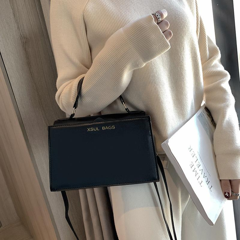 Charm2019 In Korean Tide Single Shoulder Handbag Pop Diagonal Restore Ancient Ways Small Square Package