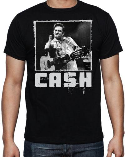 f7ce331e136d7 Johnny Cash Flipping Bird Folsom Prison Iconic Country Music Legend ...