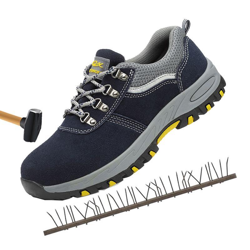 énorme réduction dfbb2 adc4d Chaussures de sécurité à bout en acier anti-écrasement anti-glissement  chaussures de travail bottes de sécurité respirantes Indestructible