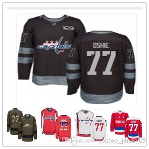 watch daf4a 529bf 2018 Washington Capitals Jerseys #77 T.J. Oshie Jerseys  men#WOMEN#YOUTH#Men's Baseball Jersey Majestic Stitched Professional  sportswear