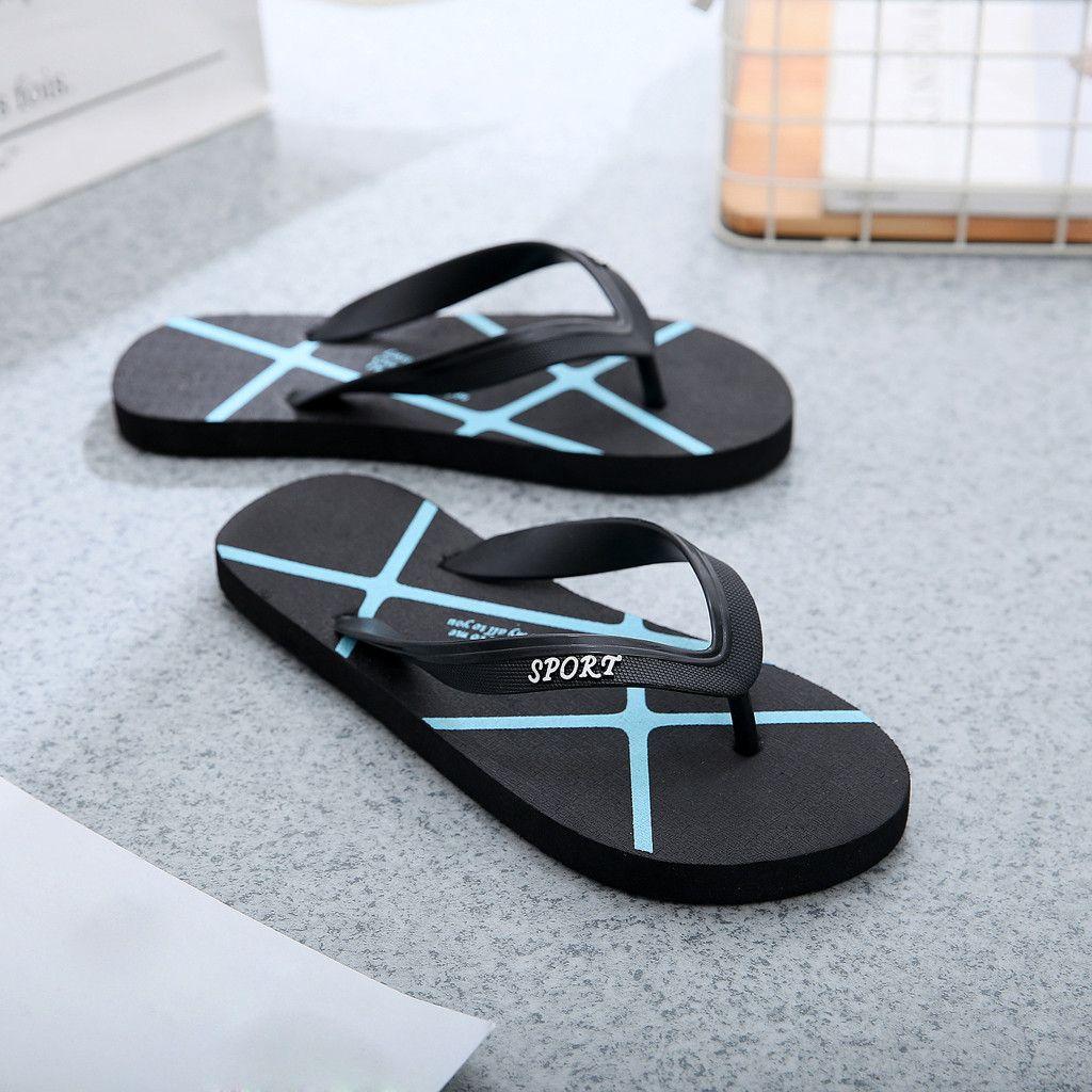bf84f50e90a JAYCOSIN Fashion Slippers 2019 Summer Flip Flops Men S Shoes Women S ...