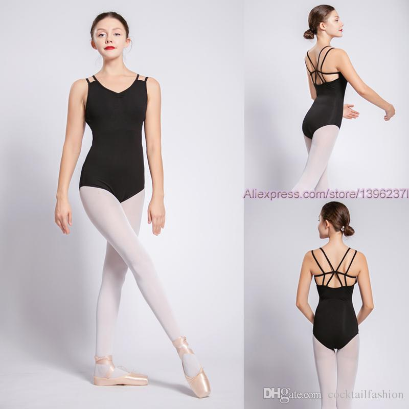 b8a880f3a 2019 Leotard For Women Pure Cotton Ballet Dancing Wear Adult Dance Practice  Clothes Sexy Gymnastics Ballet Leotards From Cocktailfashion, $18.1 |  DHgate.Com
