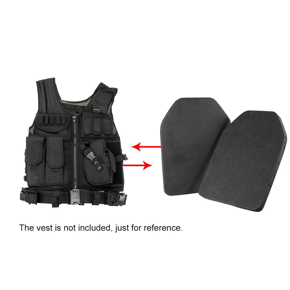 2PCS Protective Vest Plates Tactical Plate Carrier Vest CS outdoor Hunting Liner Inner EVA Pad Lightweight EVA Body
