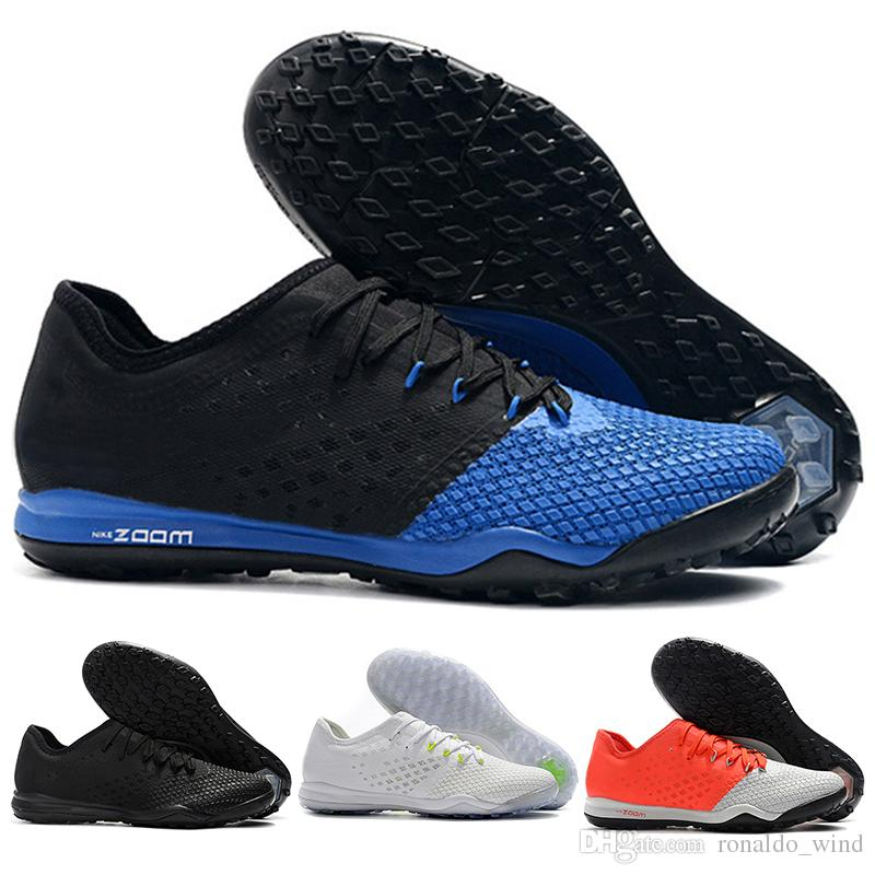 26092f1ccc7 2019 New Mens Low Ankle Football Boots Hypervenom PhantomX III Pro IC TF  Soccer Shoes Superfly Hypervenom Zoom Indoor Turf Soccer Cleats Work Boots  Knee ...
