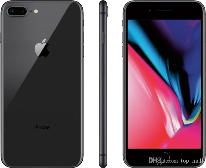 Unlocked Apple iPhone 8 Plus Hexa Core 64/256GB ROM Touch ID 12 0MP  Refurbished Cell Phone