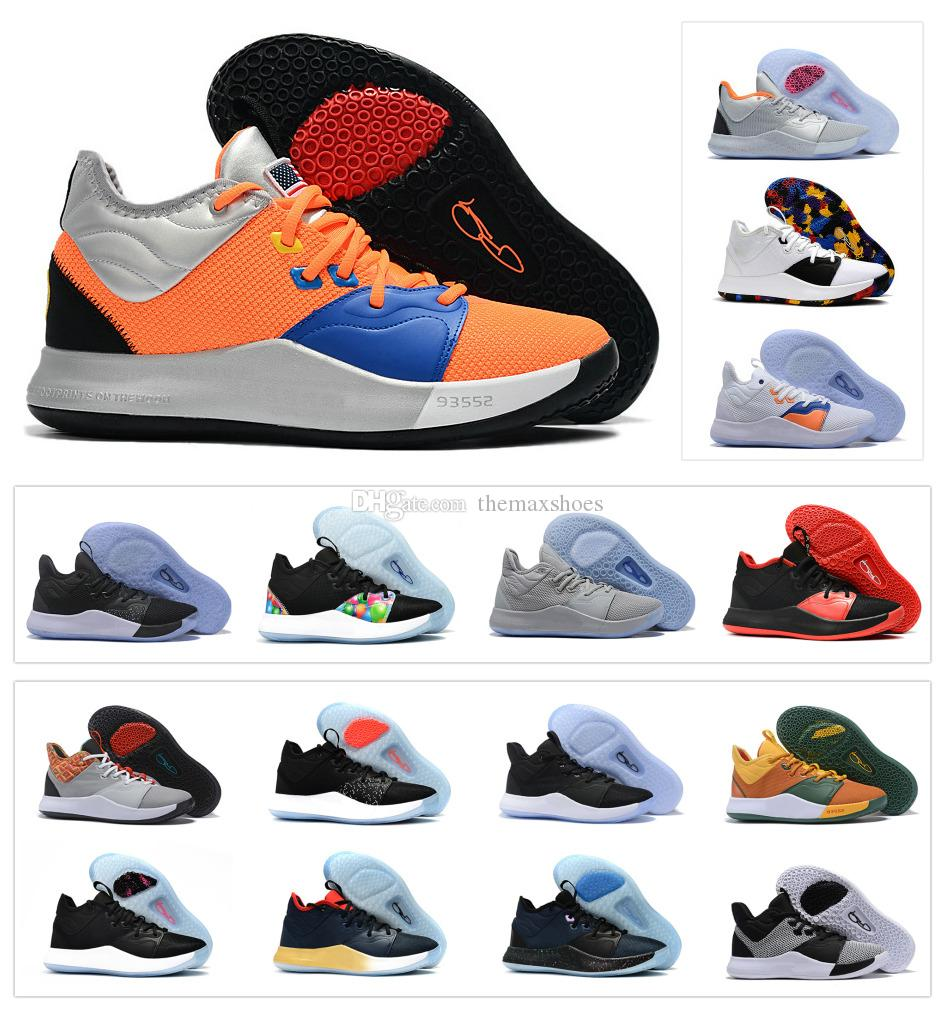 7233b9edd22 2019 New Paul George PG 3 3S PALMDALE III P.GEORGE Basketball Shoes Cheap  PG3 Starry Blue Orange Red Black Sports Sneakers Size 40 46 Boys Basketball  Shoes ...