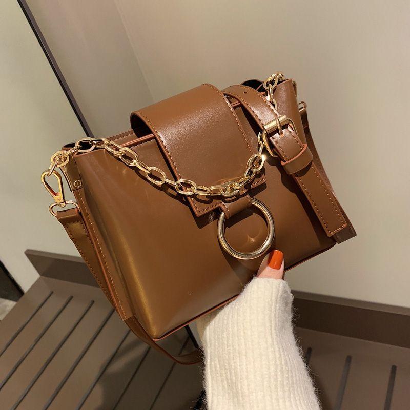 aad041f99ce7 Free shipping, 2019 new women handbags, trend korean version shoulder bags,  vintage bucket bag, fashion woman messenger bag.