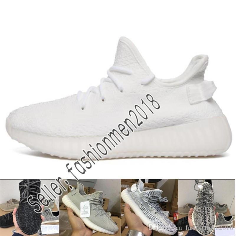 buy popular a9039 0331b Compre Adidas Yeezy 350 V2 BOOST B37571 Blue Tint Entrenador De Mantequilla  AH2203 Beluga V1V2 Botas Buuter Beluga2.0 HOMBRE MUJER Zapatilla Zebra ...