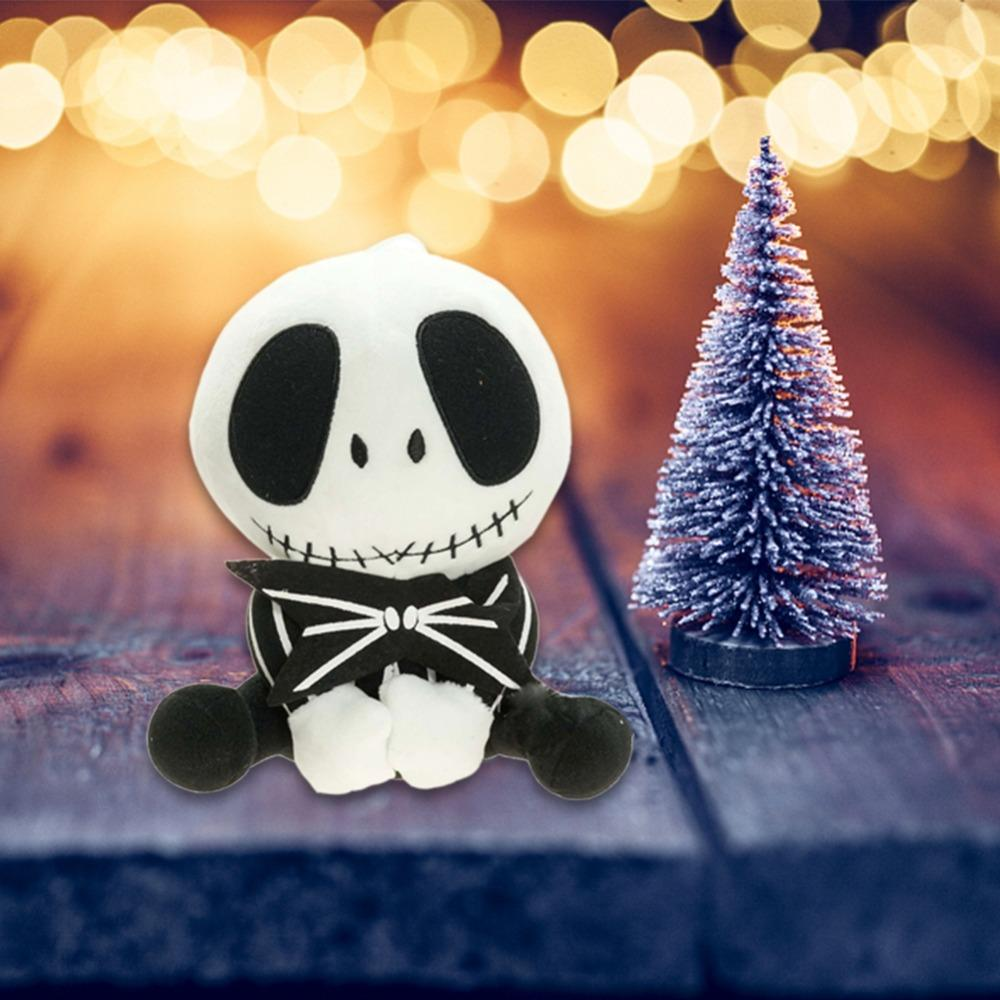 The Nightmare Before Christmas Jack Skellington 25cm Tall Plush Doll Toy Free Shipping Super Soft Short Plush Little Jack Doll