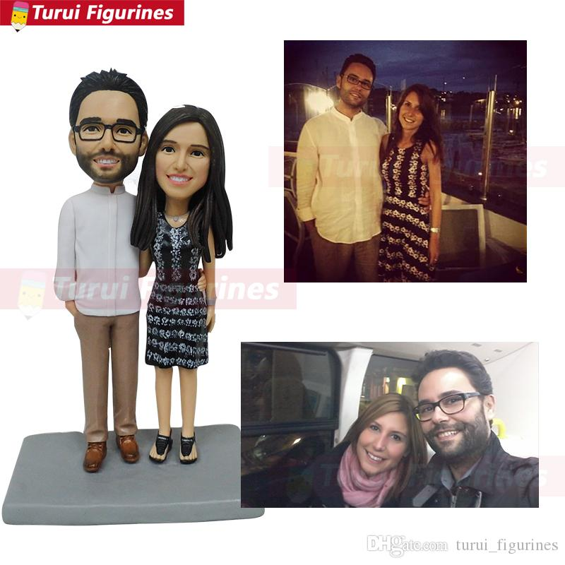 custom miniatures online character design couple figurines personalized costume clay dolls customized tabletop miniatures and statuettes