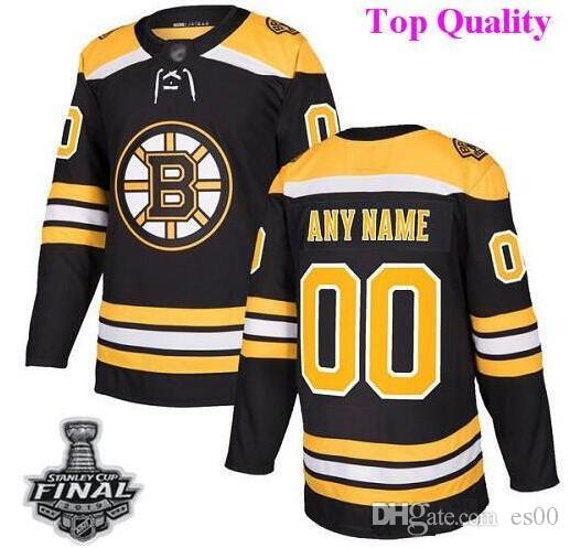 98ca28231 2019 Custom Boston Bruins Nhl Hockey Jerseys Brad Marchand Tuukka Rask 2019  Stanley Cup Final Patch Jersey 4xl 5xl 6xl Cheap Factory Youth Usa From  Es00, ...