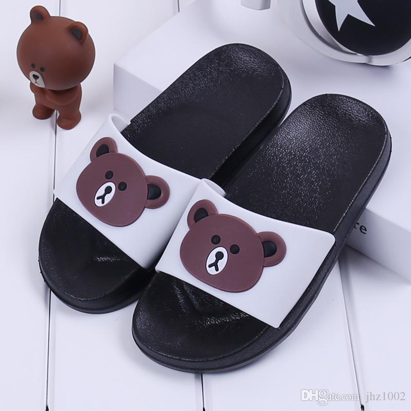 Factory Price Kids Children Cute Summer Slide Slippers For