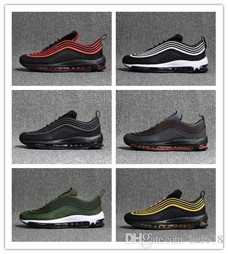 39134f81c373a8 KPU 97 Ultra UL  17 PRM OG Black Yellow Blue Red Grey Navy Green White Men Running  Shoes 97s Designer Trainers Casual Sneakers Sports Shorts Shoe Shop From ...