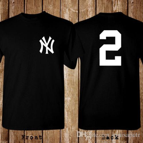 934407fc711 Derek Jeter New York Top Tee Size S 5XL T Shirt Best Sites For T Shirts Tee  Shirt Deals From Emisaputr, $10.82| DHgate.Com