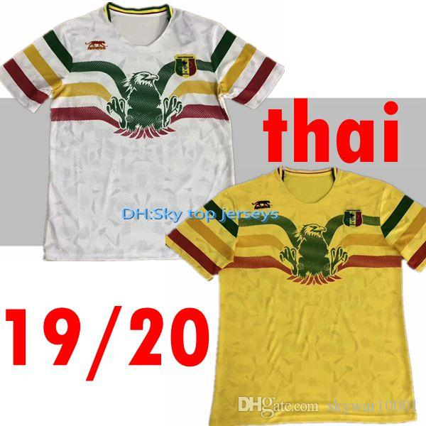 692db2fe830 2019 2019 2020 National Team Mali Soccer Jerseys Custom Any Name Any Number  Home Yellow Concept 19 20 Football Jersey Shirt Uniform From Skywar10001