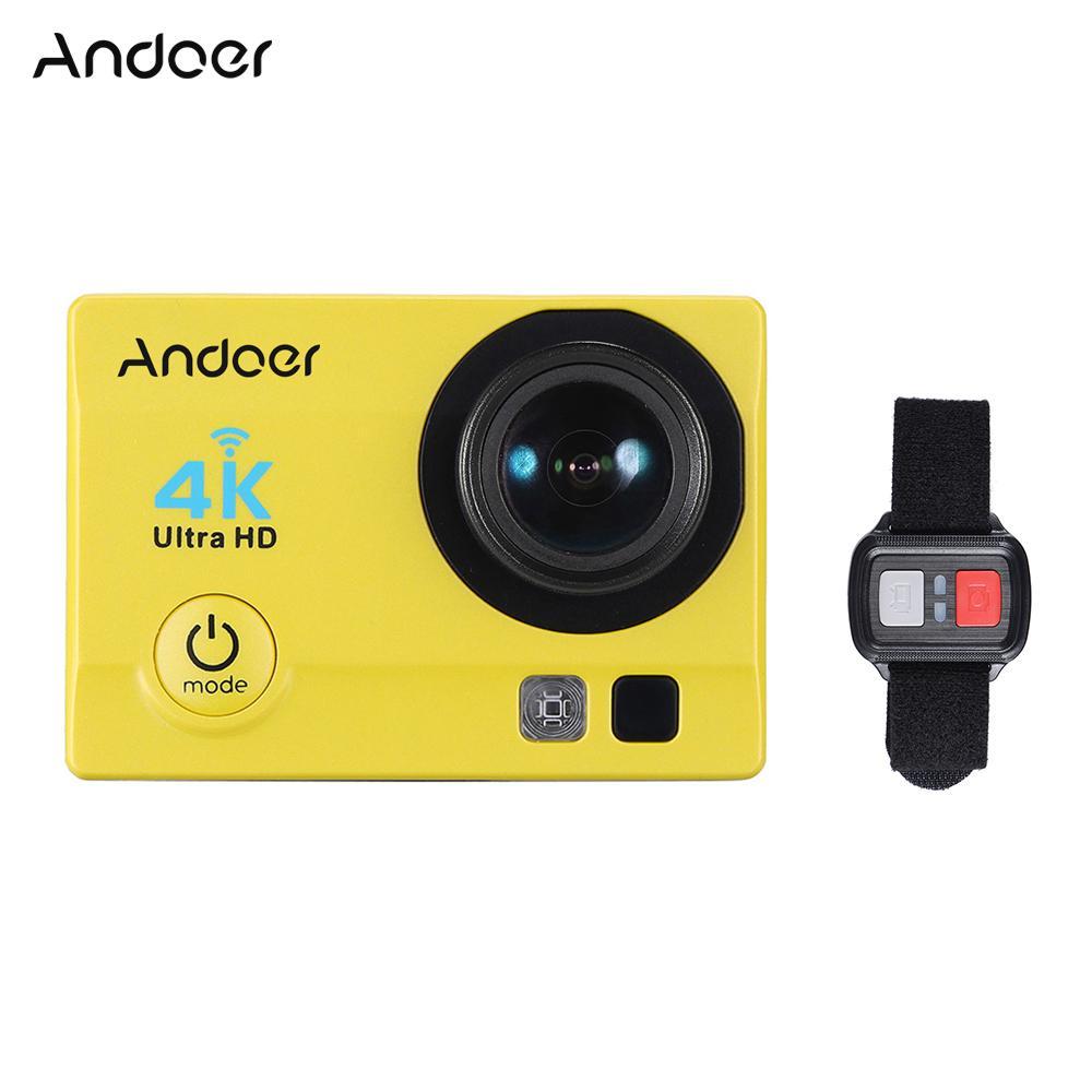 Unterhaltungselektronik Andoer Q3h 2 ultra-hd Lcd 1080 P 4 Karat Action Kamera Wifi 16mp 170 Weitwinkel Objektiv Sports Dv Mit Wasserdicht Fall Video Camcorder
