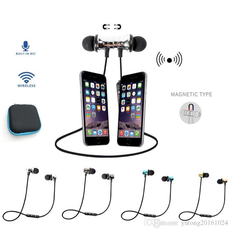 c0f2874d4f6 Compre Auriculares Inalámbricos Bluetooth Auriculares Deportivos Auriculares  Estéreo Con Micrófono Para IPhone Xiaomi Ecouteur Auriculares A $3.62 Del  ...