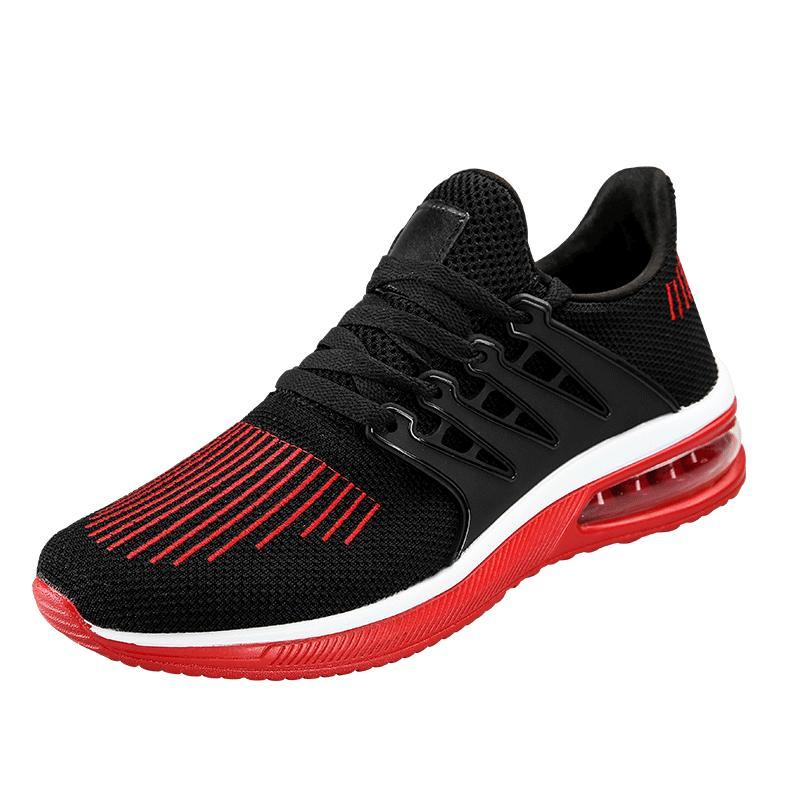 ca5ff718ad Compre Nuevo Estilo Air Women Running Shoes Para Hombre Malla Zapatos  Únicos Zapatillas Deportivas Negras Transpirables Zapatillas De Deporte  Deportivas A ...