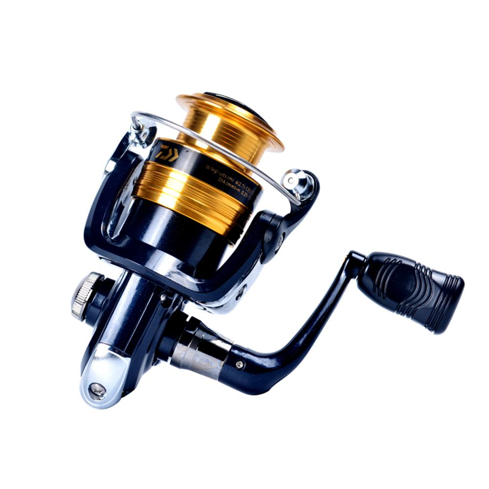 DAIWA Spinning Fishing Reel 5 3:1 Gear Ratio Spinning Reel Left / Right  Interchangeable 2 BB Fishing Reel Pesca