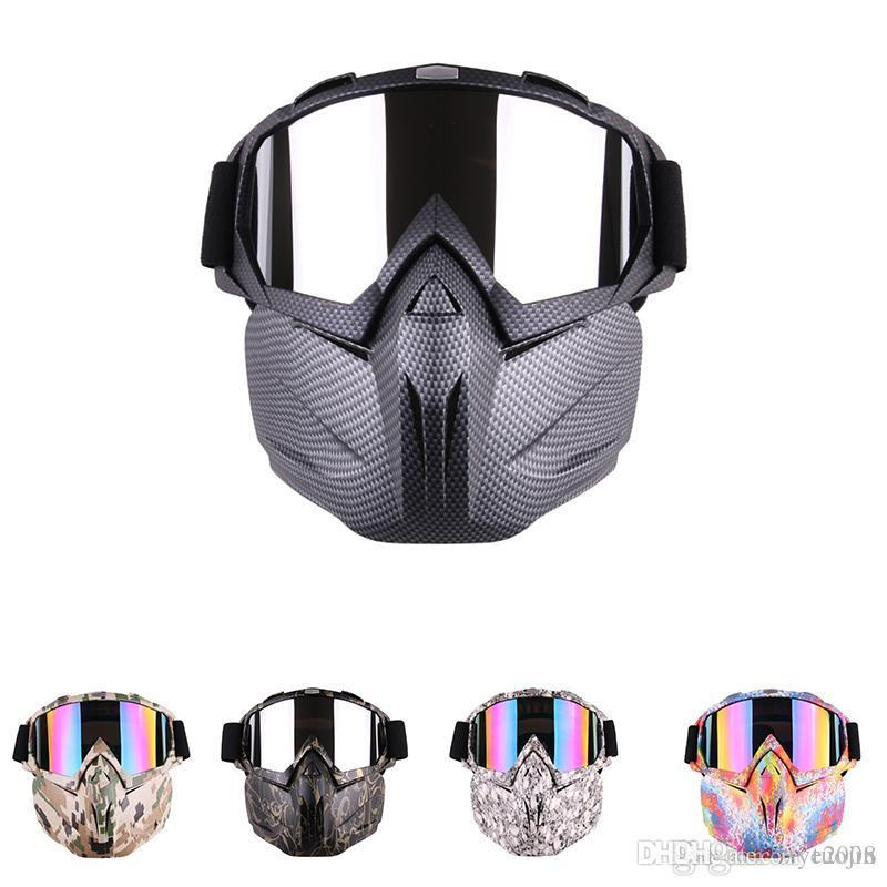b44d162059 Outdoor Motorcycle Safety Eyewear Goggles Cycling Full Mask Goggles ...