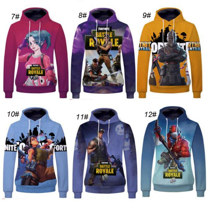 4cad868ec25 2018 Fortnite Games 3D Unisex Pullover Hoodie Sweatshirt Plus Size 3XL Hip  Hop Hooded 3d Print Fortnite Hoodie Fall Outfit Sweater Clothes From .