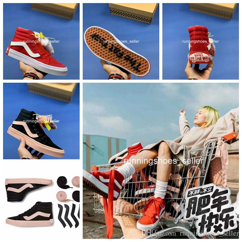add07d2595 2019 2019 Sk8 Hi Purlicue X Vans Year Of The Pig Old Skool Men Womens  Casual Shoes Canvas Top Quality Luxury Designer Sneakers Eur 35 44 From ...